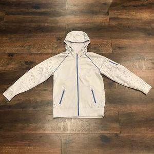 SF Gray Zip Up Hoodie, Men's Size Medium